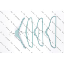 Rubber Coated Plastic Clothes Hanger