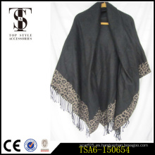 Chales de pashmina precio de descuento bufandas de navidad bufandas bufandas de peso pesado negro