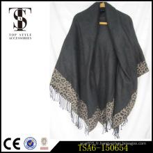 Châles pashmina réduction prix écharpes noires châles foulards noir lourd