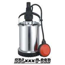 (SDL400C-32B) Cheatest Stainless Steel Garden Clean Water Submersible Pump with Plastic Bottom