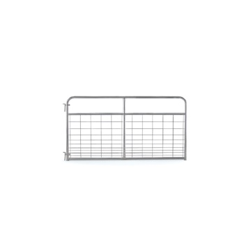 Galvanized Steel Wire Filled Farm Gates For Livestock
