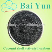 Производитель продаж 1050 йодное число активированного угля раковины кокоса