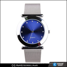 alloy case lady mesh watch band