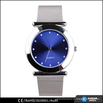 Legierungs-Kastendame-Ineinander greifen-Uhrband