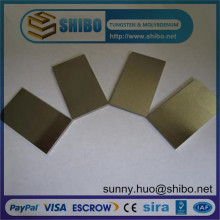 Good Hardness Tungsten Sheets for High Temperature Furnace