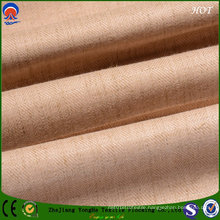 Coating Fire Retardant Blackout Polyester Line Fabric for Window Curtains