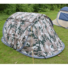 Automatical Camping Outdoor Ship Style Camouflage 190t Tent