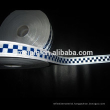 Sew PVC Reflective Checker Tape