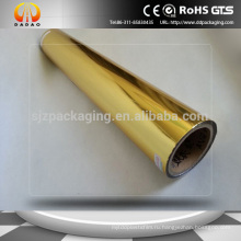 Пленка для термической ламинирования пленки с металлизированным золотом