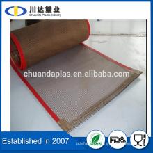 Textile Print Service Drying Mesh Teflon Coated Fibreglass teflon conveyor belt