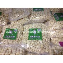 Nitrógeno dentro de los clavos de ajo pelados