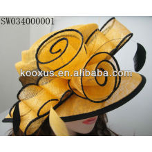 Китай Иу рынка Sinamay шляпы