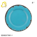 High quality blue melamine dinnerware sets/melamine dinner set/ melamine tableware