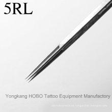 Productos de alta calidad Agujas de tatuaje desechables de acero inoxidable Suministros