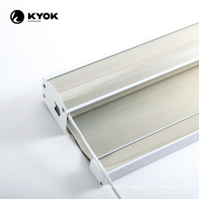 KYOK wifi day and night wooden motorized blinds