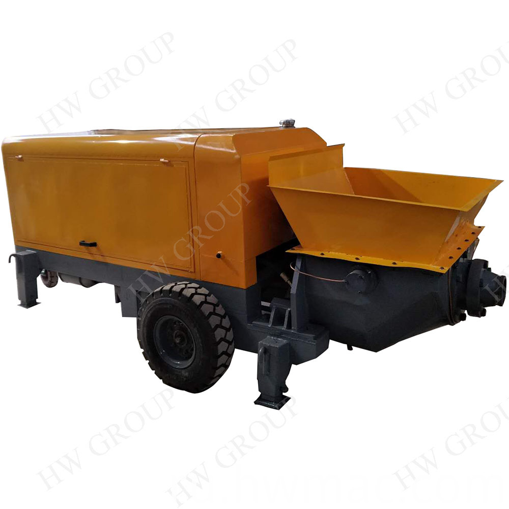 Trailer Mounted Concrete Pump