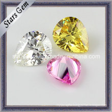 New Fashion Jewelry Set Pear Shape Cubic Zirconia