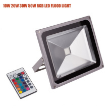 30W IP65 RGB controlador remoto LED al aire libre de Floodlight
