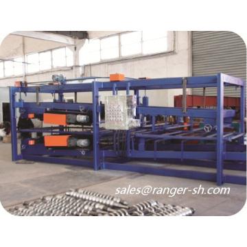 Z-Look EPS & Mineralwolle Sandwichplatte Produktionslinie Sandwich Panel Profiliermaschine gemacht Inshanghai allstar