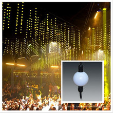 DMX 3D llevó la decoración de la Navidad de la bola al aire libre