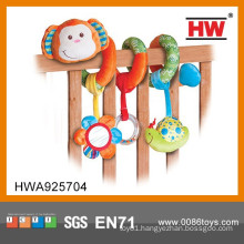 2015 New Design Baby Bed Hang Toys Plush Baby Toys