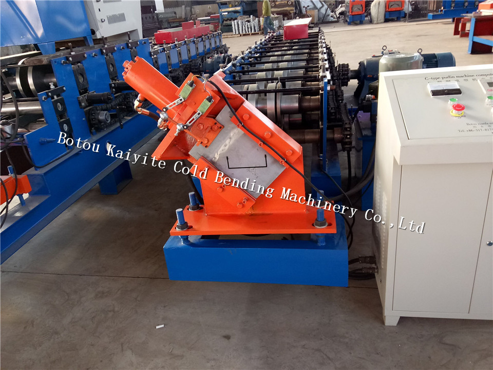 Galvanized Steel C U Channel machine