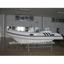 Barco de remo de barco Rib420c de costela