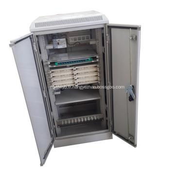 Cabinet d'intégration de données à large bande FTTB monté sur le sol