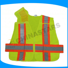 break away reflective vests with five point opening