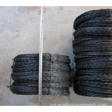 BWG16 twist wire annealed hitam