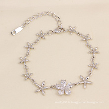 Xuping Fashion Jewelry Elegant Flower Bracelet