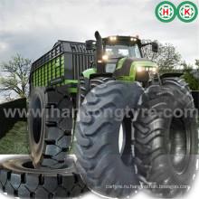 Сельскохозяйственный тракторный тягач и передняя покрышка