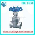 DN25 stainless steel gate valves