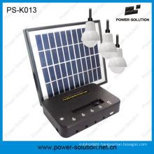 4W Solar Panel 3*1W LED Bulbs Solar Power Kit From China Solar Home Light