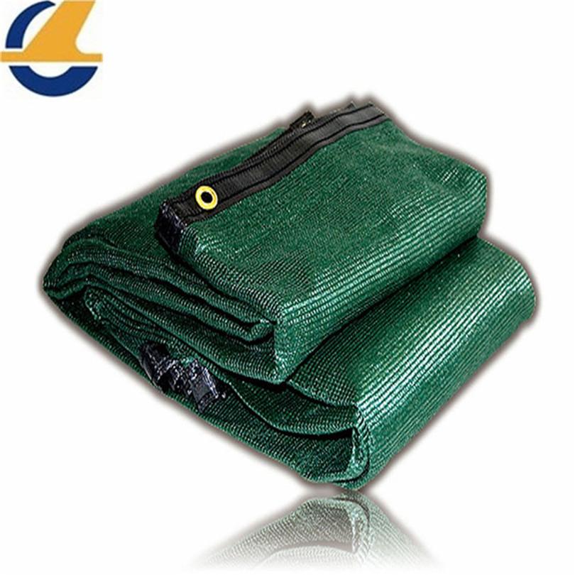Green mesh tarps