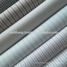"""65% polyester + 35% coton peigné TISSU TISSÉ / Blanchiment / Uni / Largeur: 59 """""""