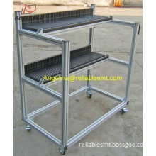 Firm Durable FUJI NXT SMT Feeder Storage Cart Stainless Steel Removable
