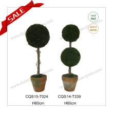H60cm Plastic Home Decoration Artifical Plant Silk Flower