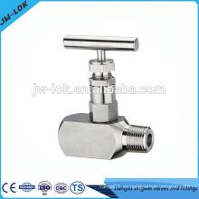 Control estándar del flujo de la válvula de aguja