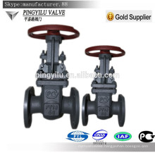 cast steel Russian cuniform stem gate valve with prices for oil water gas