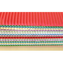 Цветная гофрированная бумага