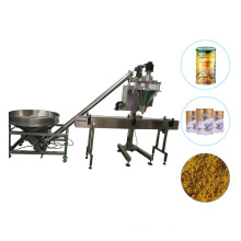 Auto Powder Filling Machine with Weighing Auger Filler for Spice Milk Powder