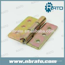 RH-196 dobradores de aço inoxidável escovado para porta de madeira