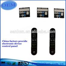 Heißer Verkauf maßgeschneiderte chronometrische Gerät Grafik Overlay / Label / Membran Tastaturschalter