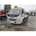 Dongfeng Duolika platform road wrecker truck for rescuing broken cars for sale