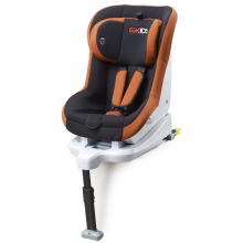 Baby car seats with green-orange  cover