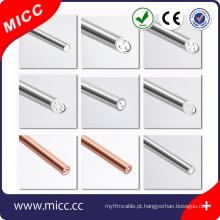2017 produtos de tendência termopar mineral com isolamento Mi cabo