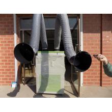 Extracteur de fumées de machine de gravure avec filtre à charbon actif