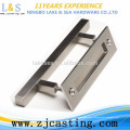 China factory wholesale carbon steel main wood door handle / barn door handle