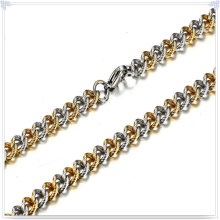 Moda jóias colar de corrente de aço inoxidável (SH043)